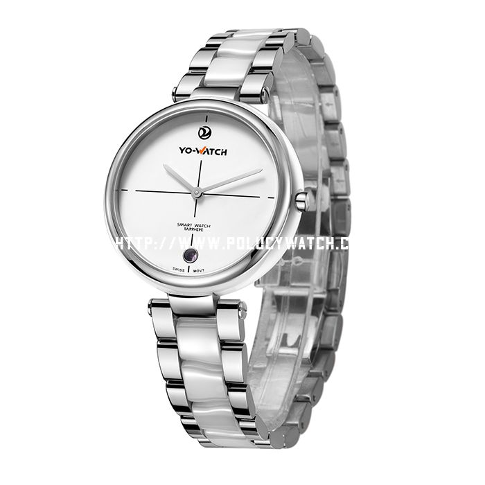 smart steel watch P4080L